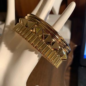 Jewelry - Rebel by Waterford gold cuff.